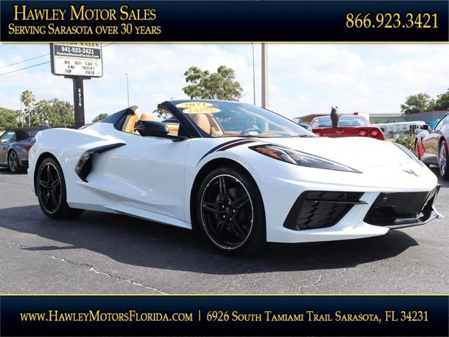 used 2021 Chevrolet Corvette car, priced at $119,988