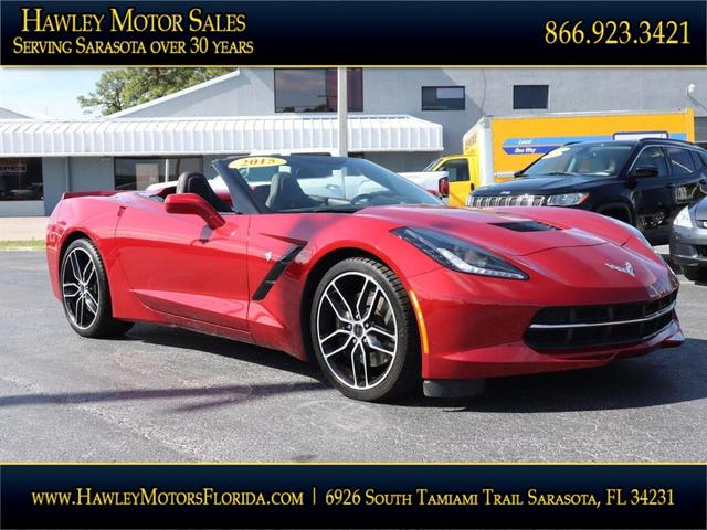 used 2015 Chevrolet Corvette car, priced at $62,988