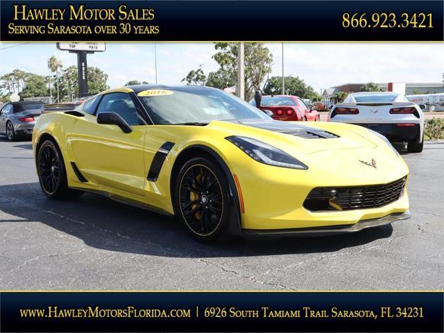 used 2016 Chevrolet Corvette car, priced at $99,988