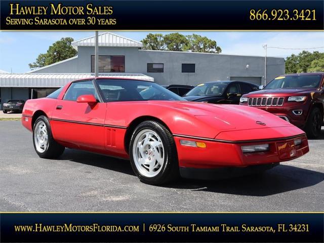 used 1990 Chevrolet Corvette car, priced at $18,988