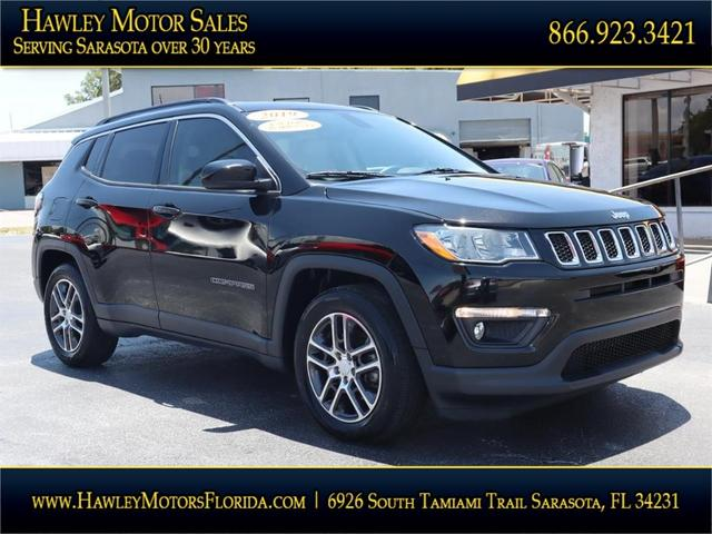 used 2019 Jeep Compass car, priced at $22,988