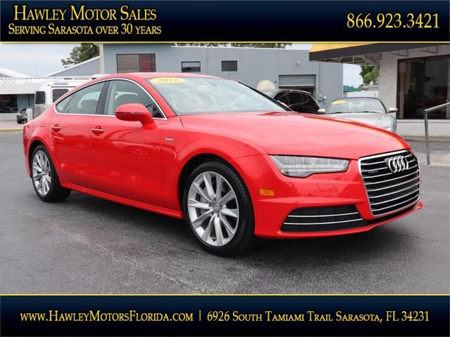 used 2016 Audi A7 car, priced at $45,988