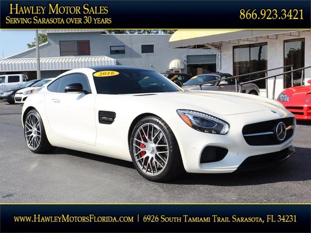 used 2016 Mercedes-Benz AMG GT car, priced at $92,988