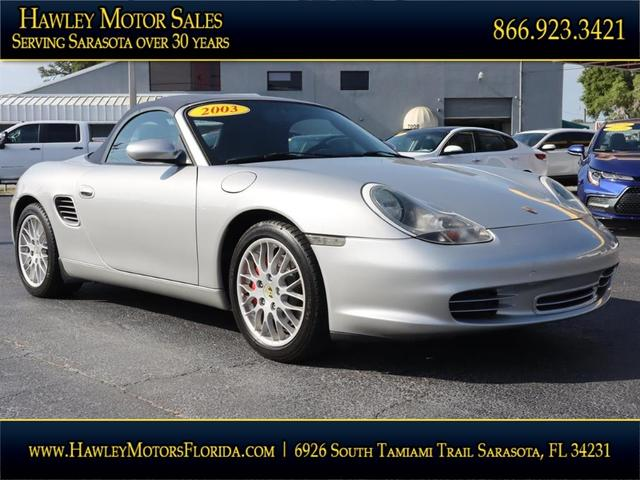 used 2003 Porsche Boxster car, priced at $19,988
