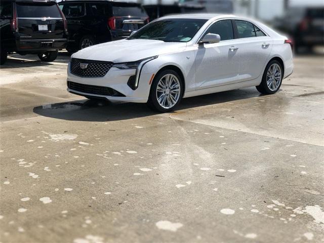 new 2021 Cadillac CT4 car, priced at $39,755