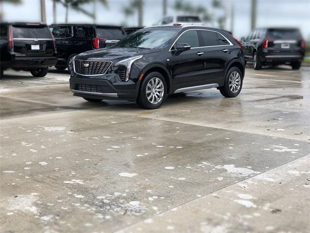 new 2021 Cadillac XT4 car, priced at $41,390