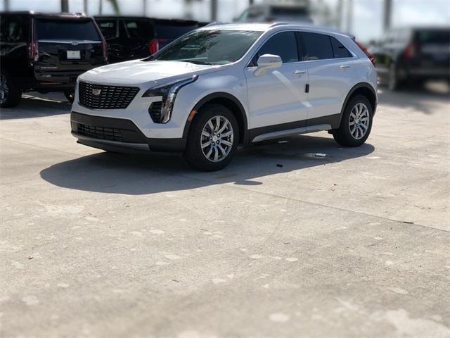 new 2021 Cadillac XT4 car, priced at $41,990