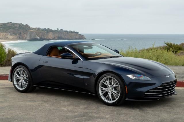 new 2021 Aston Martin Vantage car, priced at $179,027