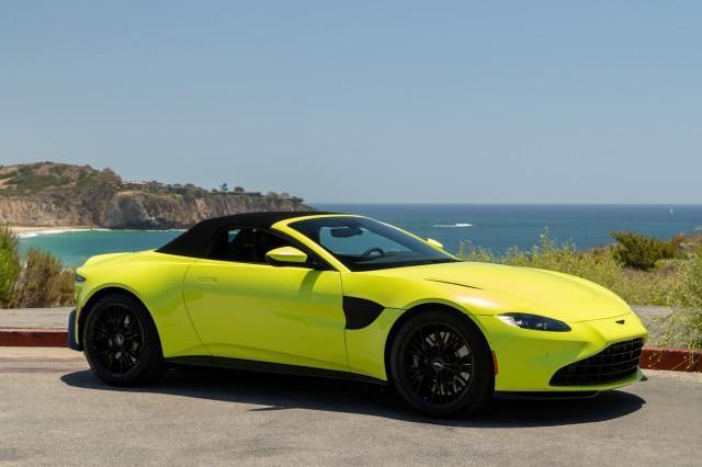 new 2021 Aston Martin Vantage car, priced at $187,886
