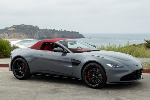 new 2021 Aston Martin Vantage car, priced at $183,986