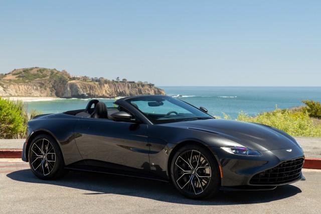 new 2021 Aston Martin Vantage car, priced at $189,986