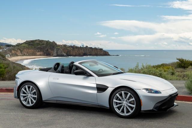new 2021 Aston Martin Vantage car, priced at $174,386