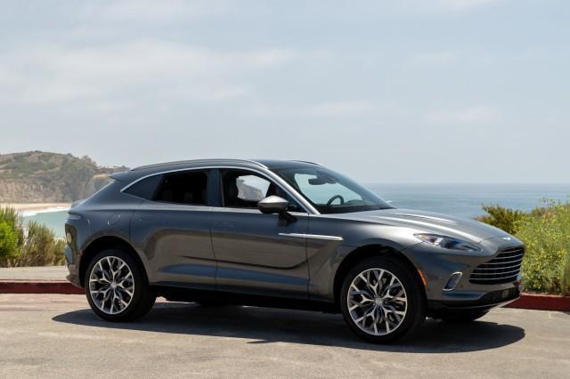 new 2021 Aston Martin DBX car, priced at $190,286