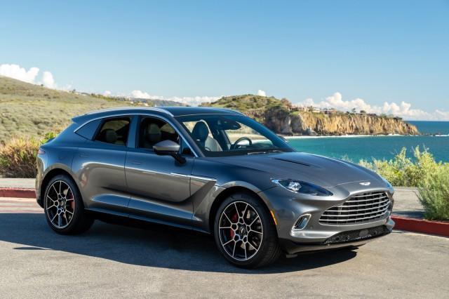 new 2021 Aston Martin DBX car, priced at $190,686