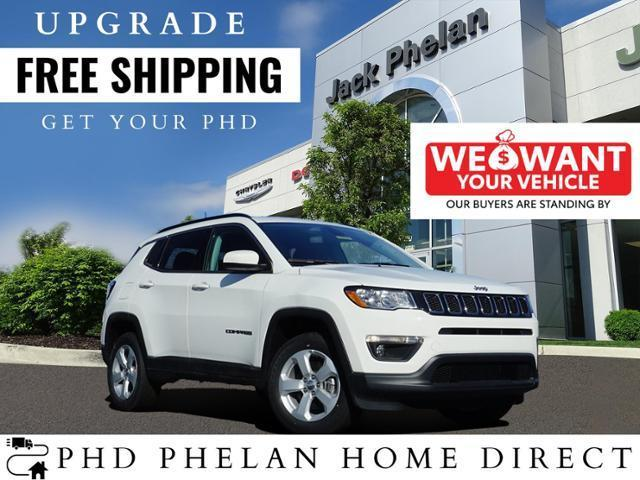 new 2021 Jeep Compass car, priced at $33,840