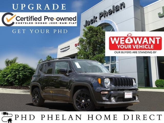 used 2020 Jeep Renegade car, priced at $26,341
