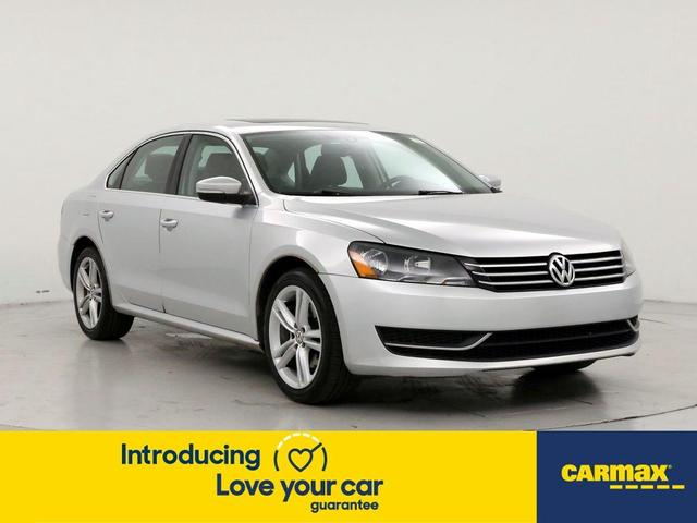 used 2014 Volkswagen Passat car, priced at $14,998