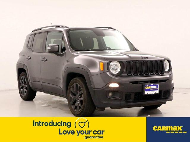 used 2018 Jeep Renegade car, priced at $17,998