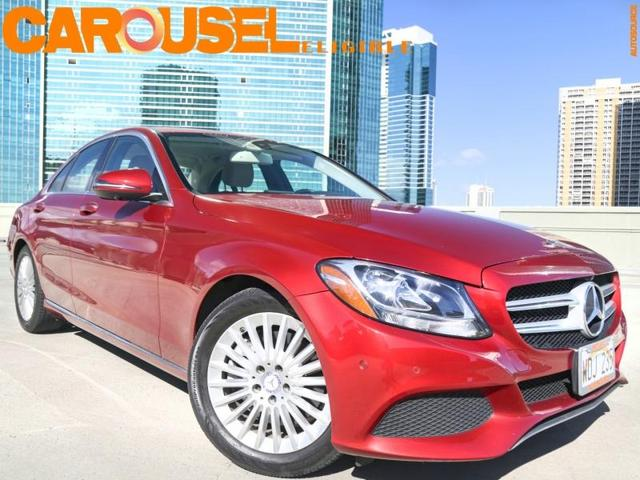 used 2017 Mercedes-Benz C-Class car, priced at $27,995