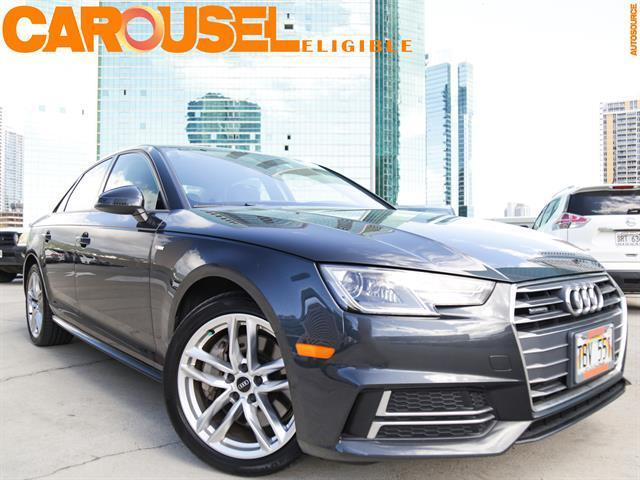 used 2017 Audi A4 car, priced at $29,995