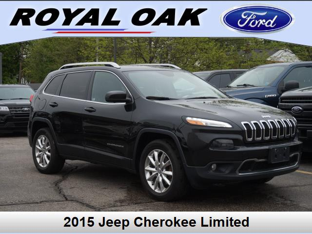 used 2015 Jeep Cherokee car, priced at $16,277