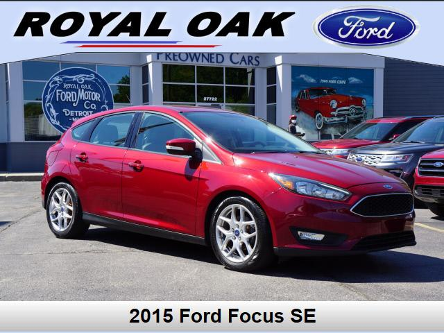 used 2015 Ford Focus car, priced at $10,500
