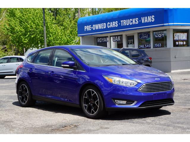 used 2015 Ford Focus car, priced at $13,795