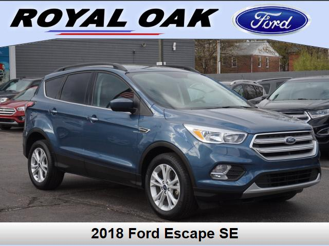 used 2018 Ford Escape car, priced at $20,195