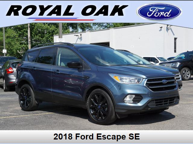 used 2018 Ford Escape car, priced at $18,088