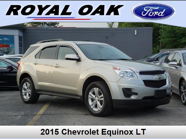 used 2015 Chevrolet Equinox car, priced at $17,795