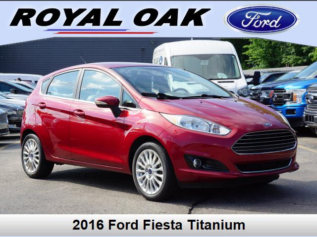 used 2016 Ford Fiesta car, priced at $11,500