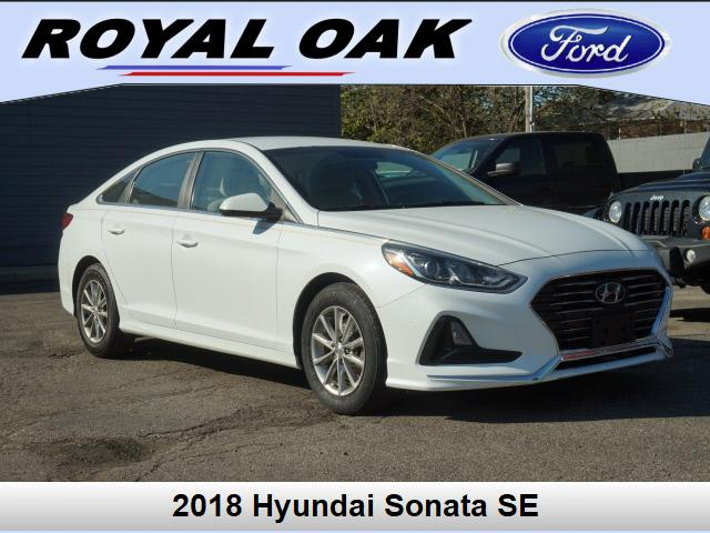 used 2018 Hyundai Sonata car, priced at $18,995