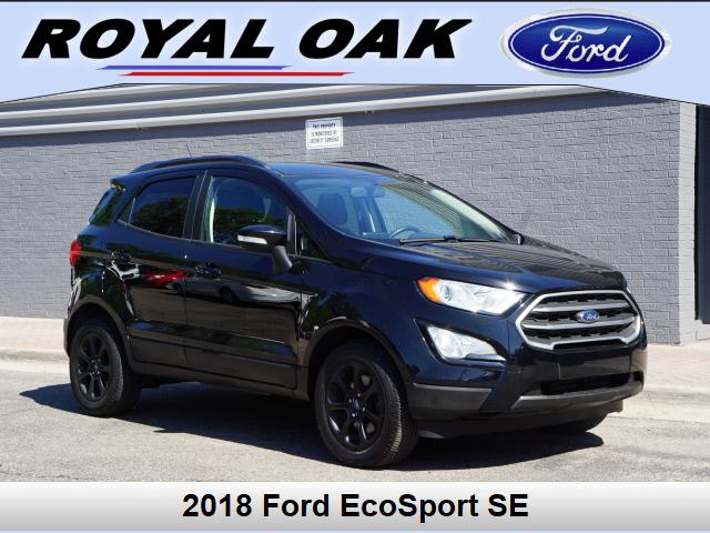 used 2018 Ford EcoSport car, priced at $18,500