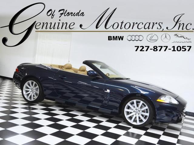 used 2007 Jaguar XK car, priced at $28,997