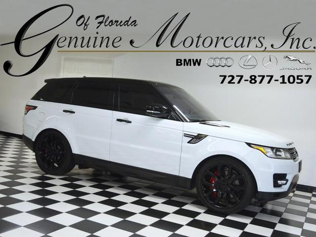 used 2016 Land Rover Range Rover Sport car, priced at $49,997