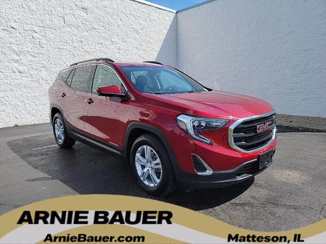 used 2019 GMC Terrain car, priced at $22,200