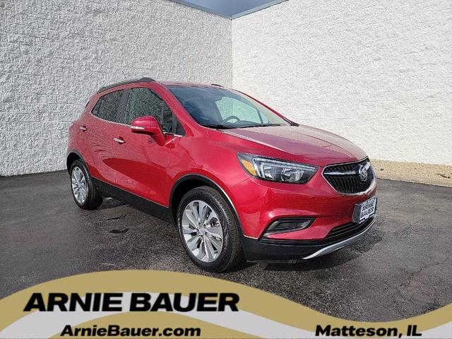 used 2018 Buick Encore car, priced at $18,300