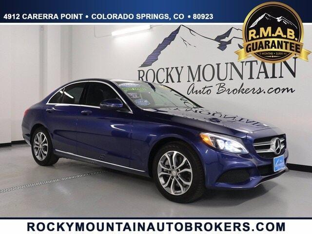 used 2017 Mercedes-Benz C-Class car, priced at $25,499