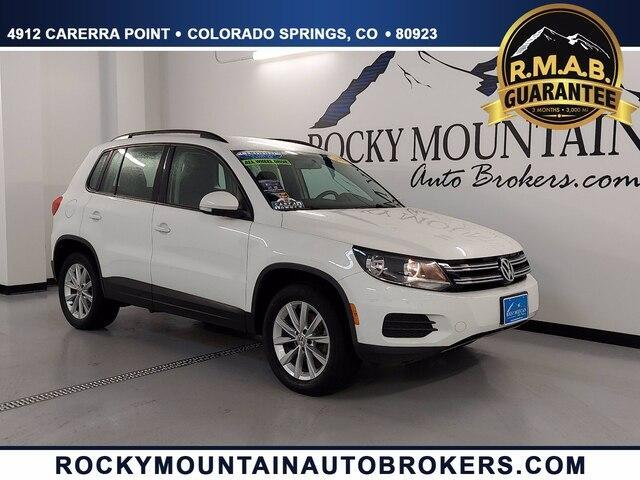 used 2017 Volkswagen Tiguan Limited car, priced at $17,689