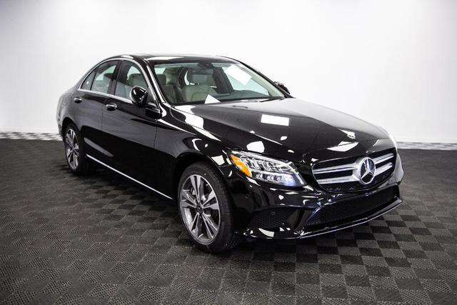 new 2021 Mercedes-Benz C-Class car, priced at $48,800