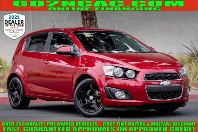 used 2012 Chevrolet Sonic car, priced at $8,900