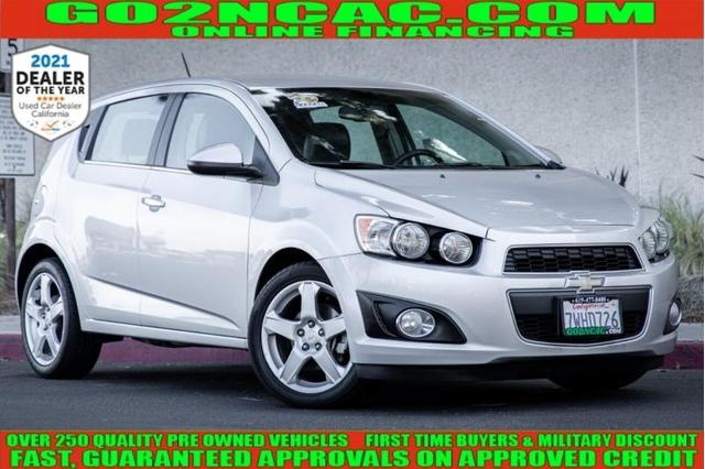 used 2015 Chevrolet Sonic car, priced at $8,990
