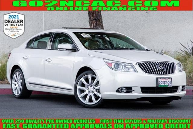 used 2013 Buick LaCrosse car, priced at $14,990
