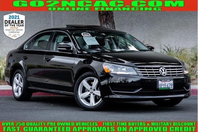 used 2013 Volkswagen Passat car, priced at $12,700