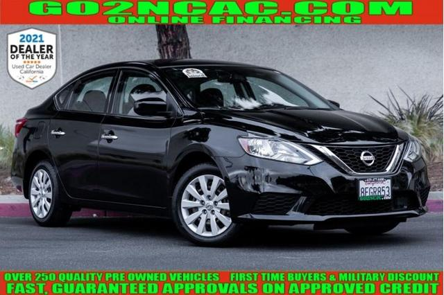 used 2018 Nissan Sentra car, priced at $15,600