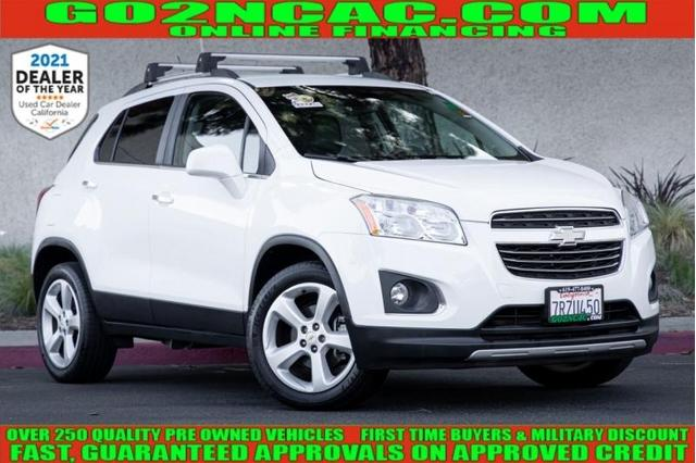 used 2016 Chevrolet Trax car, priced at $13,800
