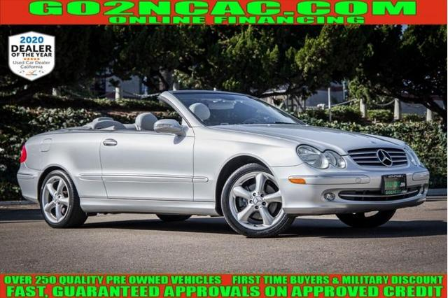 used 2005 Mercedes-Benz CLK-Class car, priced at $9,990