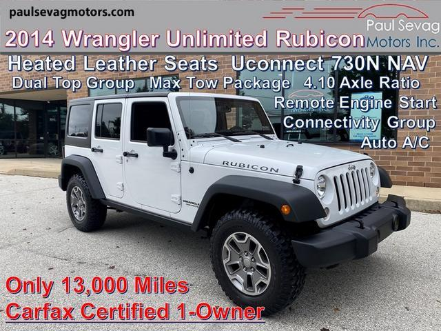 used 2014 Jeep Wrangler Unlimited car, priced at $39,797