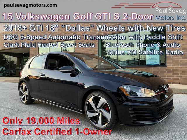 used 2015 Volkswagen Golf GTI car, priced at $19,542