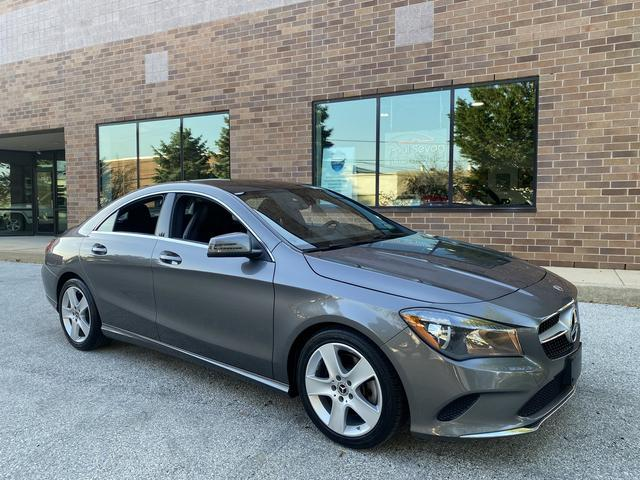 used 2018 Mercedes-Benz CLA 250 car, priced at $28,990